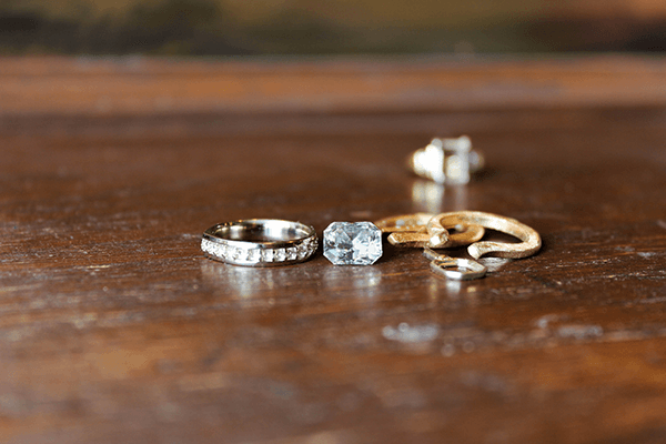 Custom Restyles Two-tone Engagement Ring Pieces