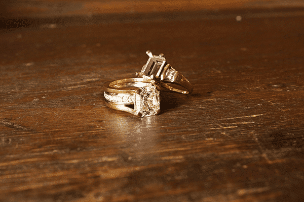 Custom Restyles Two-tone Engagement Ring Comparison