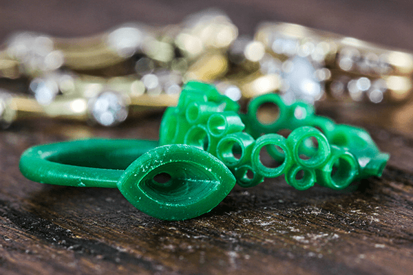 3D Wax Figure of McCoy Custom Rings
