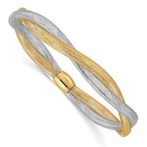 Twisted Stretch Bracelet
