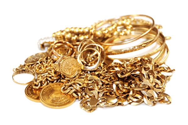 Gold Jewelry Pile