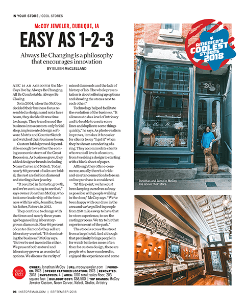 Americas Coolest Store Article page 1