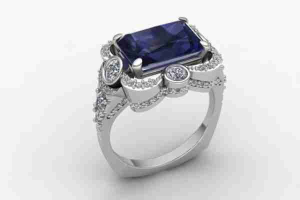 McCoy Custom with sapphire